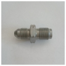 Adapter 3/8-24 - M10 x 1,00 konkav, silber Goodridge...