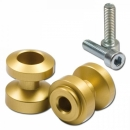 Bobbin s, MP, M8 (1.25), elox., gold, Ø=24,5mm, VPE 2...
