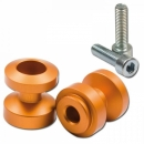 Bobbin s, MP, M8 (1.25), elox., orange, Ø=24,5mm, VPE 2...