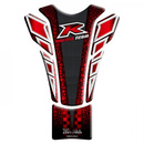 Keiti Tankpad Colour Racing Dark Red Yamaha